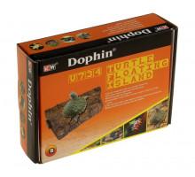 Плотик для черепах на магнитах KW Zone U-734 S, 15x11x3 см