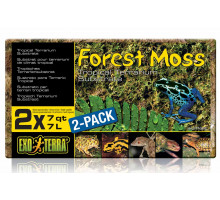 Мох натуральный спрессованный Exo-Terra Forest Moss 2x7л