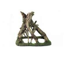 Аквариумная  декорация из керамопласта Коряга  781