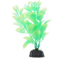 Растение для аквариума Barbus Людвигия, пластиковое, светящееся, 10 см