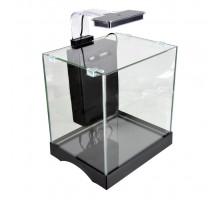 Аквариум Dophin GT-8001 с LED светильником и системой фильтрации, 10 л