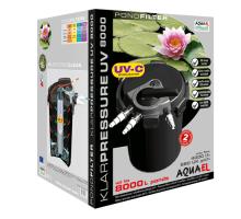 Фильтр для пруда Aquael KLARPRESSURE UV 8000 со стерилизатором