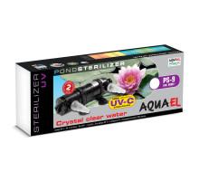 Стерилизатор Aquael STERILIZER UV PS, 9 ВТ для пруда объемом до 10000 л.