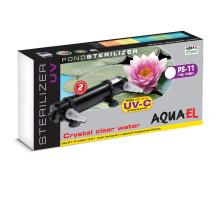 Стерилизатор Aquael STERILIZER UV PS, 11 ВТ для пруда объемом до 15000 л.