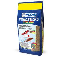 Корм для карпа кои и золотых рыбок PRODAC PONDSTICKS COLOR, 4кг