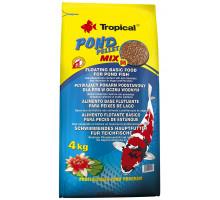 Корм для карпа кои и золотых рыбок Tropical Pond Pellet Mix Size M 50 литров, 4 кг