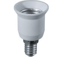 Патрон-переходник для ламп с цоколем E14 на цоколь E27
