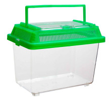 Переноска с пластиковой крышкой Barbus BOX 003, 18х11х13,5 см