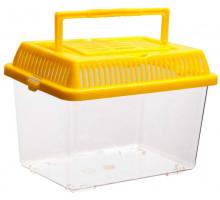 Переноска с пластиковой крышкой Barbus BOX 004, 21х13,5х14 см