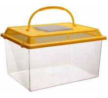 Переноска с пластиковой крышкой Barbus BOX 005, 27х17х16 см