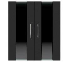 Двери Ф-290 для тумбы Биодизайн Стеклянные вставки (2 шт.)