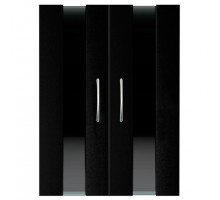 Двери Ф-240 для тумбы Биодизайн Стеклянные вставки (2 шт.)
